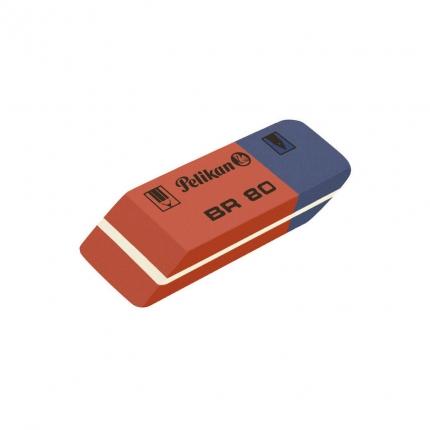Pelikan BR 80, Radierer für Tinte und Bleistift