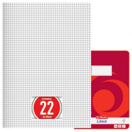 Doppelheft DIN A4, Lineatur 22, Herlitz