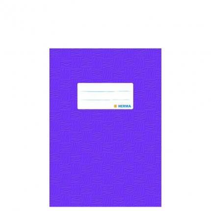 Heftschoner A5, violett gedeckt, Herma