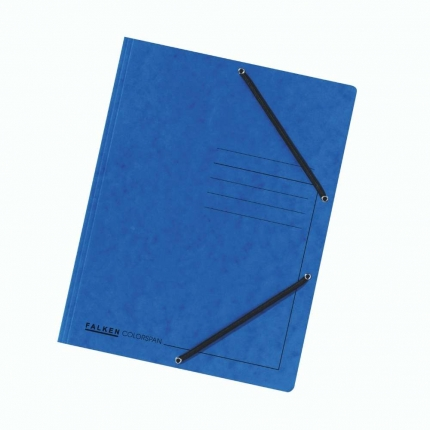 Jurismappe Colorspan-Karton, A4, blau