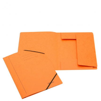 Jurismappe aus Karton, A4, orange