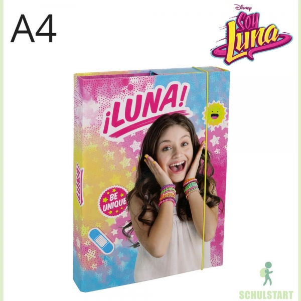 soy luna heftbox. Black Bedroom Furniture Sets. Home Design Ideas