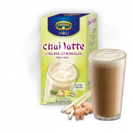Chai-Latte Krüger, Ingwer-Zitronengras, 1 Beutel