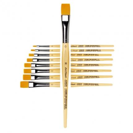 Flachpinsel da Vinci, Stärke 16