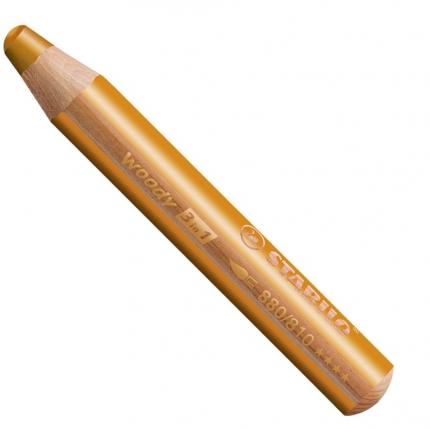 BB Buntstifte für Kleinkinder: Stabilo woody gold - 810