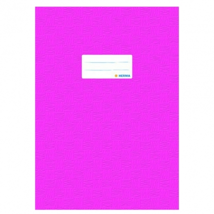 Heftschoner A4, pink gedeckt, Herma