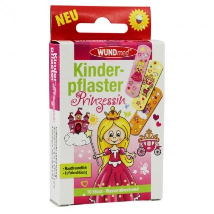 """Kinderpflaster """"Prinzessin"""", 10 Stück wasserfest"""