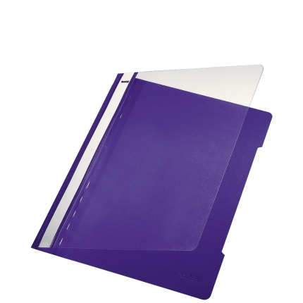 Plastik Schnellhefter violett, Leitz