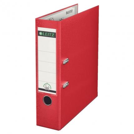 Leitz Ordner PP rot, breit, 8 cm