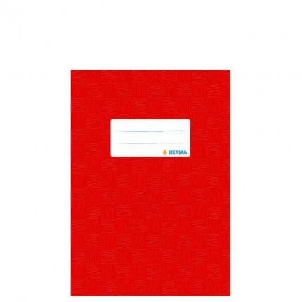 Heftschoner A5, rot gedeckt, Herma