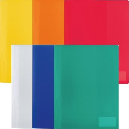Herma Schnellhefter PP, 6 Farben: weiß, gelb, orange, rot, blau und grün