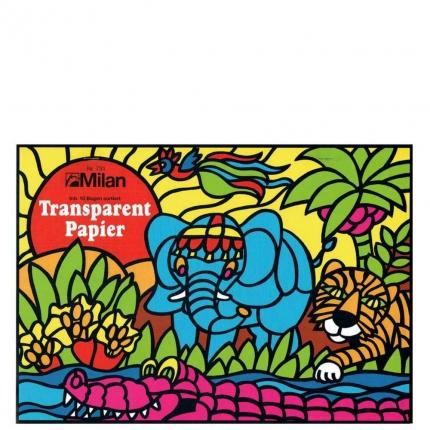 Transparentpapier, 10 Blatt