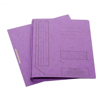 Falken Schnellhefter aus Karton, violett