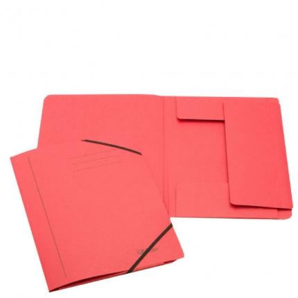 Jurismappe aus Karton, A4, rot