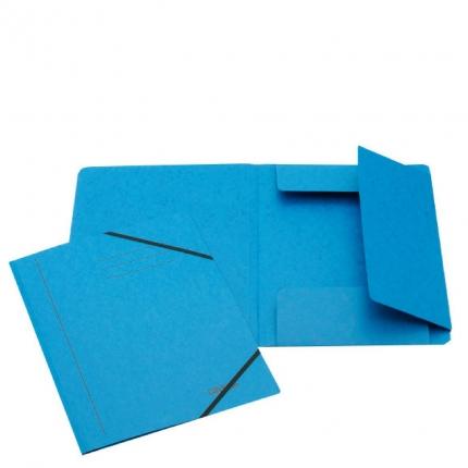 Jurismappe aus Karton, A4, blau