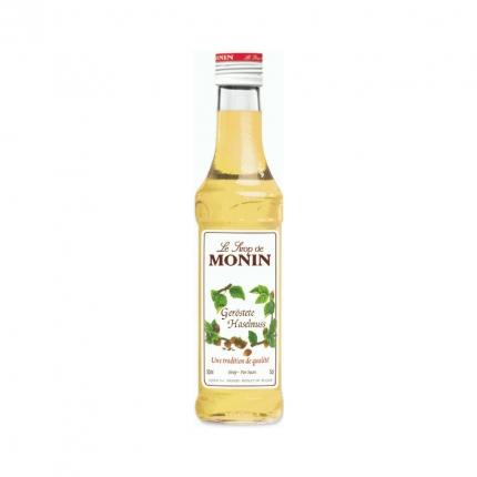 Monin Sirup Geröstete Haselnuss, 50 ml