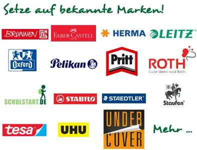 Schulbedarf von bekannten Marken bei schulstart.de kaufen
