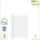 Premiumheft Recycling A5, green90, Lineatur 3
