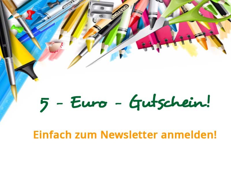 5-Euro-Gutschein zum Einkauf auf schulstart.de