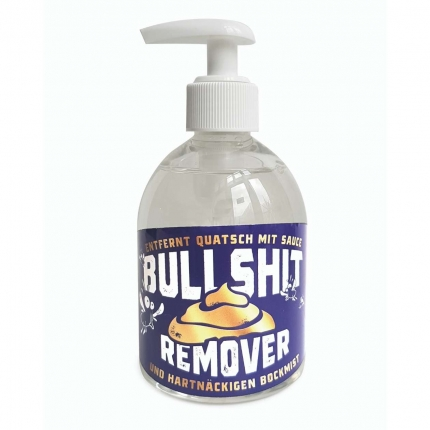 Bullshit Remover, Seife im Spender
