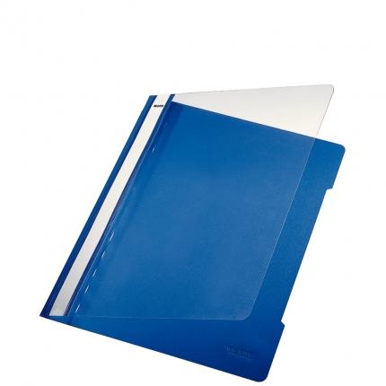 Plastik Schnellhefter blau, Leitz