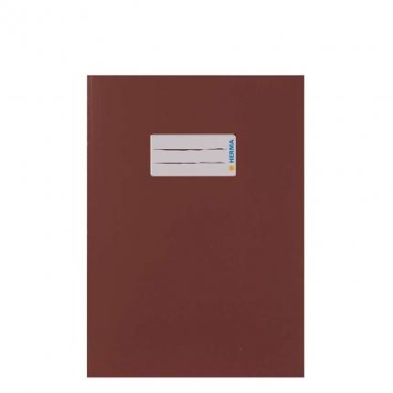 Heftumschlag Papier UWF, A5 braun
