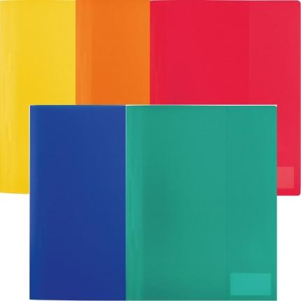 Herma Schnellhefter PP, 5 Farben: gelb, orange, rot, blau und grün