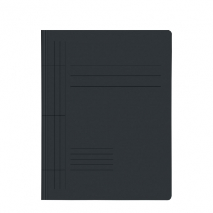Karton-Schnellhefter, schwarz