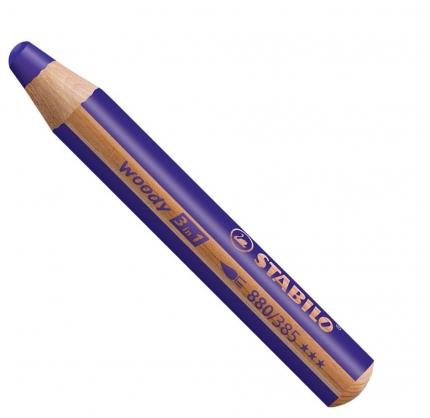 BB Buntstifte für Kleinkinder: Stabilo woody violett - 385