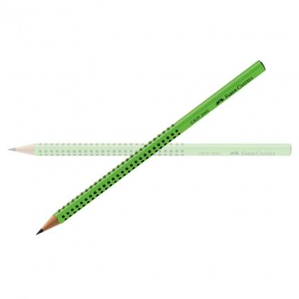 Faber-Castell Grip Bleistift B, hellgrün