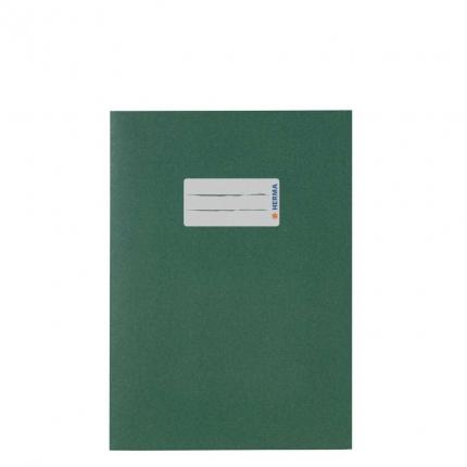 Heftumschlag Papier UWF, A5 dunkelgrün