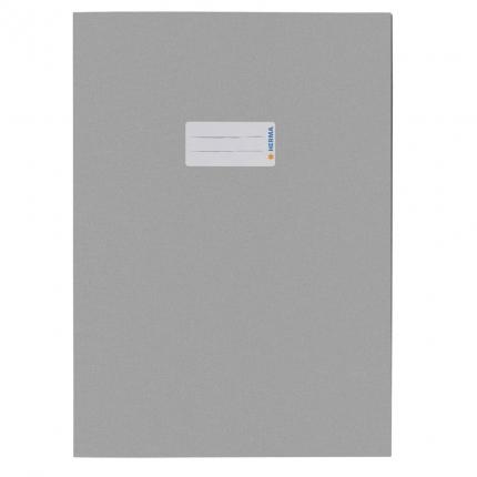Heftschoner aus Recyclingpapier, A4 grau