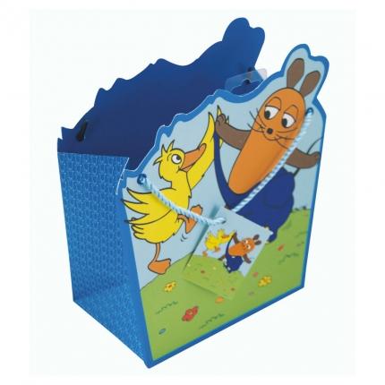 Geschenktüte Sendung mit der Maus, blau