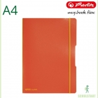 Herlitz my.book flex A4 Notizheft, orange