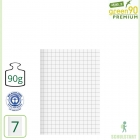Premiumheft Recycling A5, green90, Lineatur 7