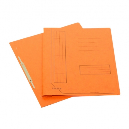 Falken Schnellhefter aus Karton, orange