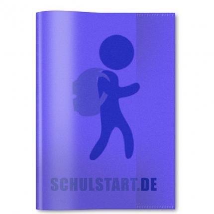 Transparenter Heftumschlag, A4 violett, Herma