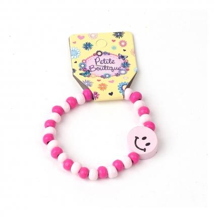 Holzarmband, pink