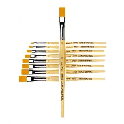 Flachpinsel da Vinci, Stärke 12