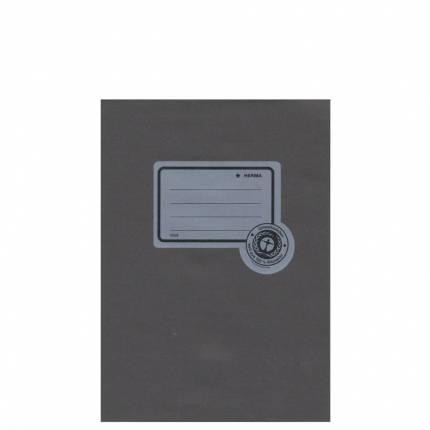 Heftumschlag Papier UWF, A5 schwarz