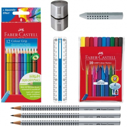 Faber-Castell Schreibset, Grip Stifte