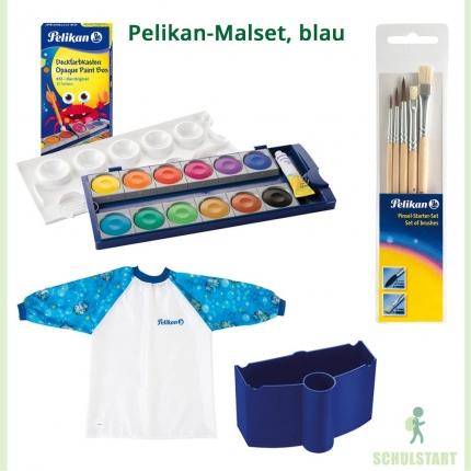 Pelikan-Malset, blau