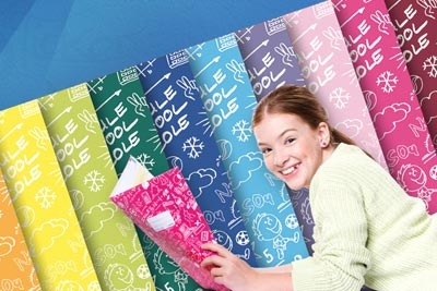 Mach' Dir die Schule bunt mit Schoolydoo Heftschonern.