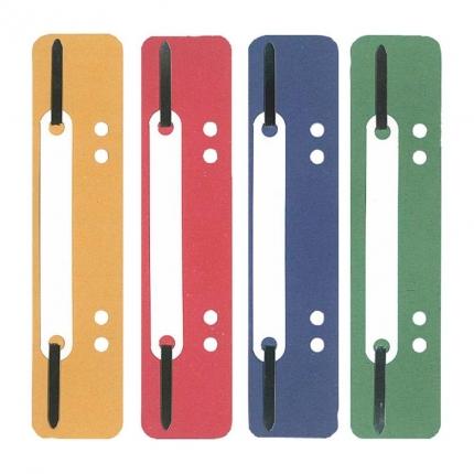 10 Heftstreifen in verschiedenen Farben