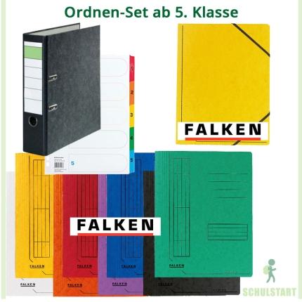Ordnen-Set ab 5. Klasse: 8 Marken-Schnellhefter, Jurismappe und mehr