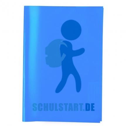 Transparenter Heftumschlag, A4 dunkelblau, Herma