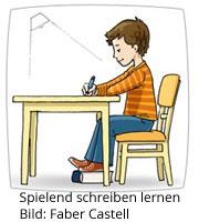 Spielend schreiben lernen