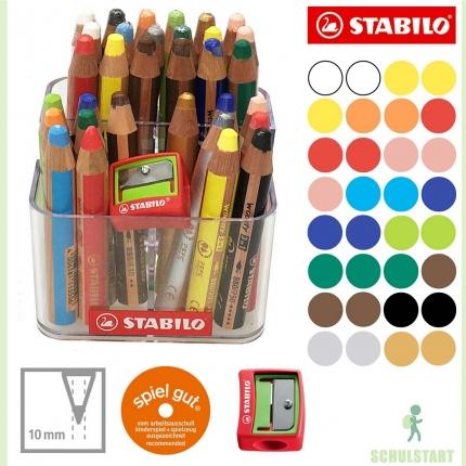 32 Stabilo woody mit Stiftehalter