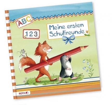 Freundebuch zur Einschulung Flinki & Schlau