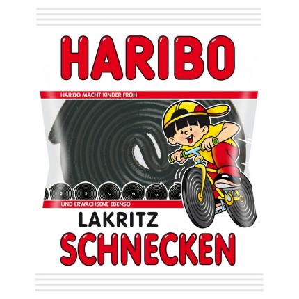 Haribo Lakritz Schnecken, einzeln